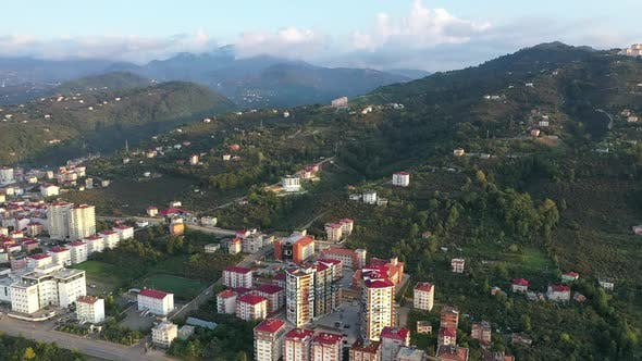 Thumbnail for Trabzon City And Mountains Aerial View