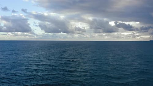 Marine-Horizont