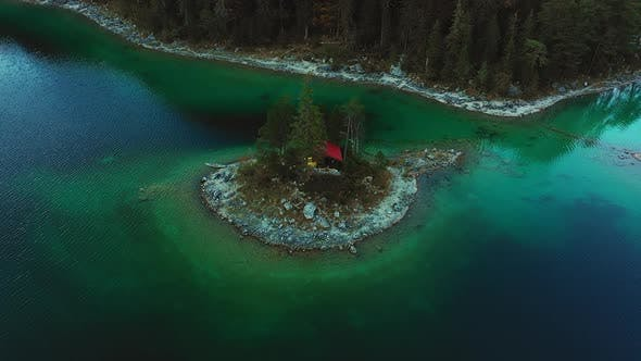Thumbnail for A Cabin in the Middle of Lake Eibsee