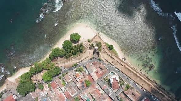 Thumbnail for Lighthouse Mosque and Fort in the Southern Part of the Island of Sri Lanka