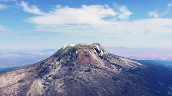 Thumbnail for Mount Kilimanjaro Aerial View