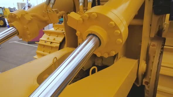 Thumbnail for Powerful Hydraulic Cylinders. The Main Power and Driving Element for Construction Equipment