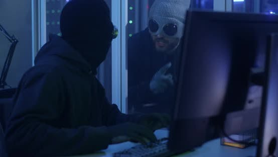 Hackers Breaking Into a Data Center