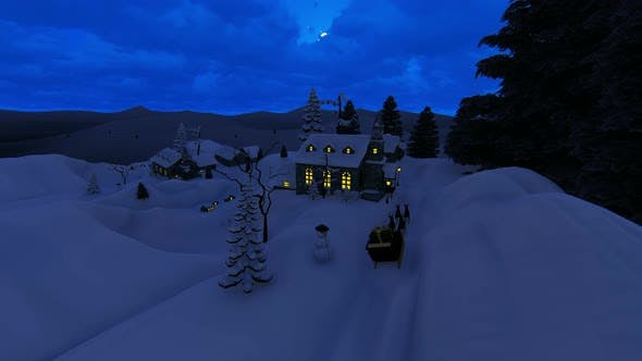 Thumbnail for The Snow At Christmas 2k