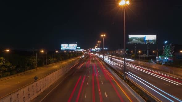 Thumbnail for Traffic at Night City