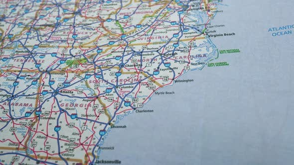 Thumbnail for Road Map Usa 7, Slider Shot