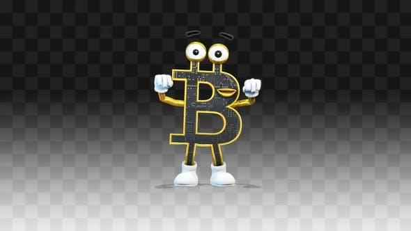Bitcoin Cheering Fan