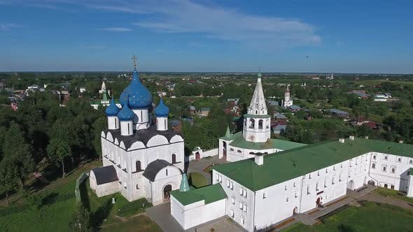 Thumbnail for Aerial View on Kremlin in Suzdal, Russia