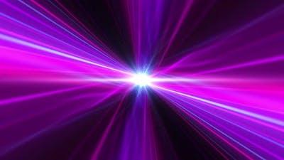 Multi-colored laser beams