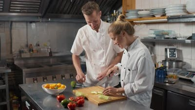 Chef Teaching Cooking Master Class