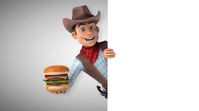 Fun cowboy