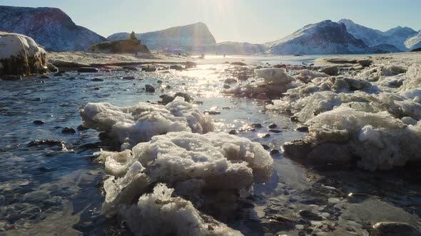Thumbnail for Winter Beach At The Lofoten 3