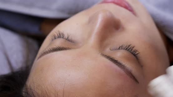 Thumbnail for Permanent makeup with microblading brow on woman