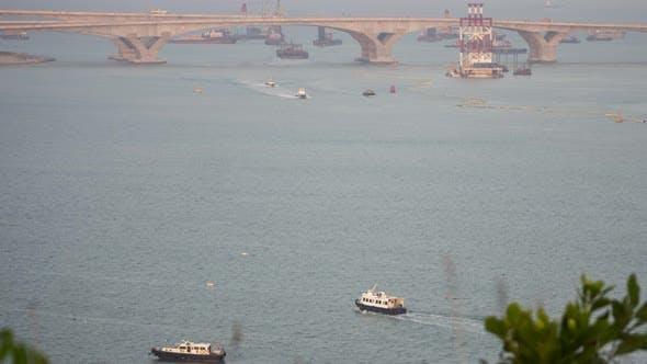 Thumbnail for Timelapse of Ship Traffic in Hong Kong