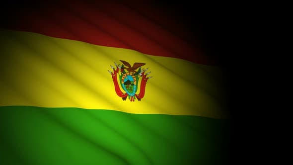 Thumbnail for Bolivia Flag Blowing in Wind