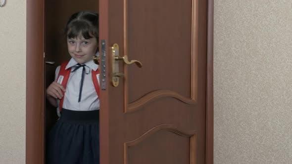 Schoolgirl in the Flat