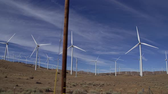 Thumbnail for Large Wind Farm In California