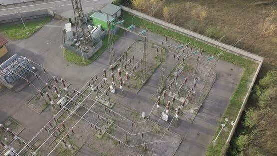 Electric Plant Aerial View