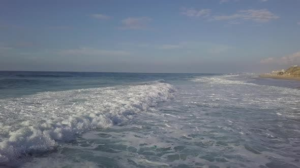 Thumbnail for Storm Surf at Mediterrian Sea Coast of Israel