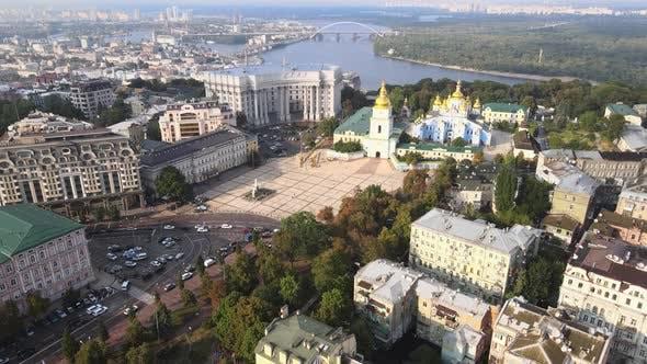 Thumbnail for Kyiv, Ukraine Aerial View of the City. Kiev