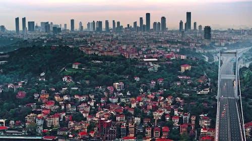 Bridge Above Bosphorus, Istanbul