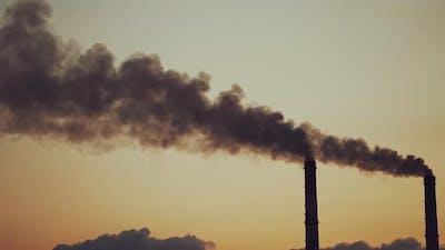 Smoking pipes making clouds