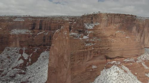 Slow reveal of Canyon de Chelly National Monument