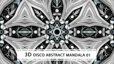 Disco Abstract Mandala 01