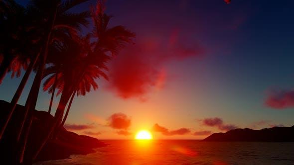 Thumbnail for Sunset Island Landscape