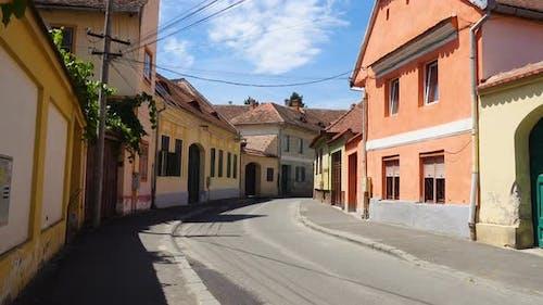 Empty Streets Of Sibiu 3