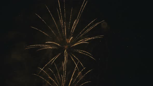 Thumbnail for Footage New Year Celebration Fireworks
