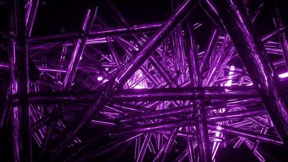 Intense Flashing Vj Neon Lights 7