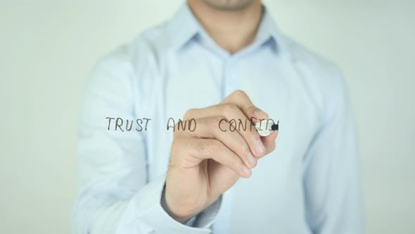 Thumbnail for Trust and Confidence, Writing On Transparent Screen