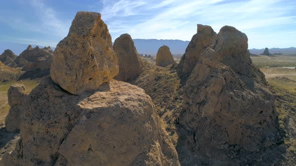 Thumbnail for Aerial  View of the Awesome Valley with Pinnacles