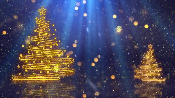 Thumbnail for Christmas Tree Background 3