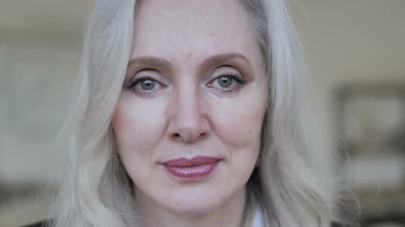 Thumbnail for Close Up of Middle Aged Businesswoman Face