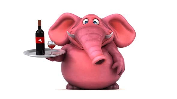 Thumbnail for Pink elephant