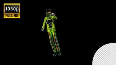 Neon Clown Dance