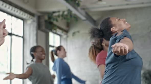 Thumbnail for Happy Woman Enjoying Dancing