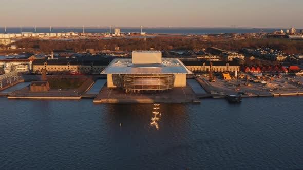 Thumbnail for Drone Flight Over Copenhagen Opera House