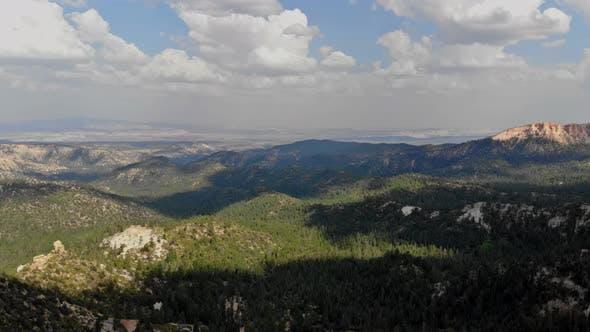 Panorama on Zion Canyon National Park Utah United States