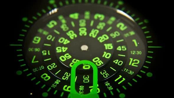 Thumbnail for clock face macro watch