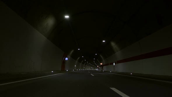 Cover Image for Highway Driving In Tunnel