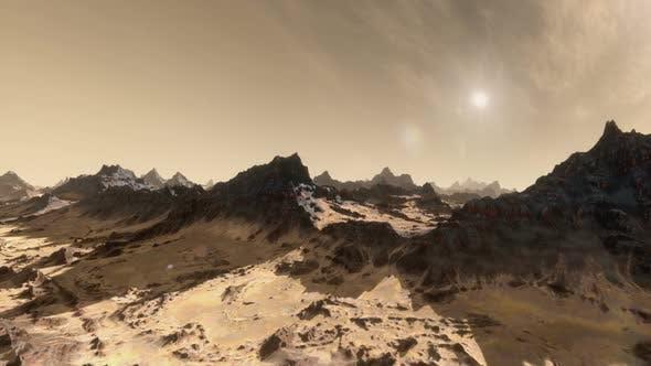 Thumbnail for Planet Mars Establishing Shot