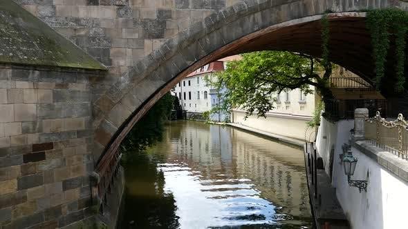 Thumbnail for Prag - Kleinstadt - Wasserkanal