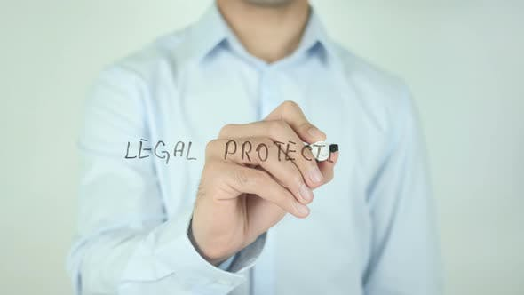 Thumbnail for Legal Protection, Writing On Screen