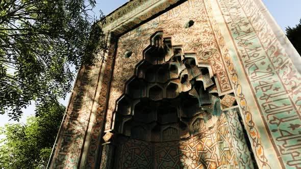 Old Ottoman Mosque Door