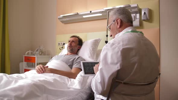 Worried Patient Afraid To Hear Bad MRI Results