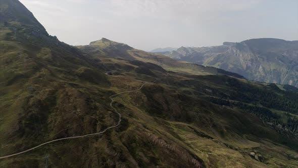 Aerial View of Mannlichen Mountain