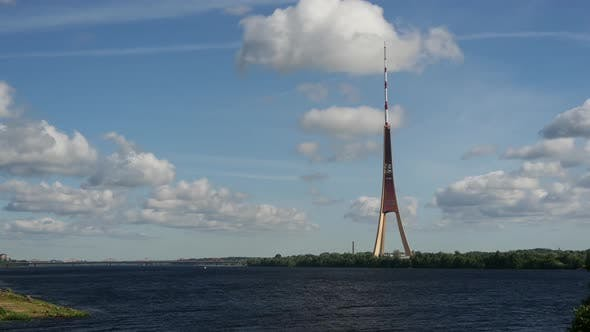 Thumbnail for Time lapse from the Riga Radio and TV Tower